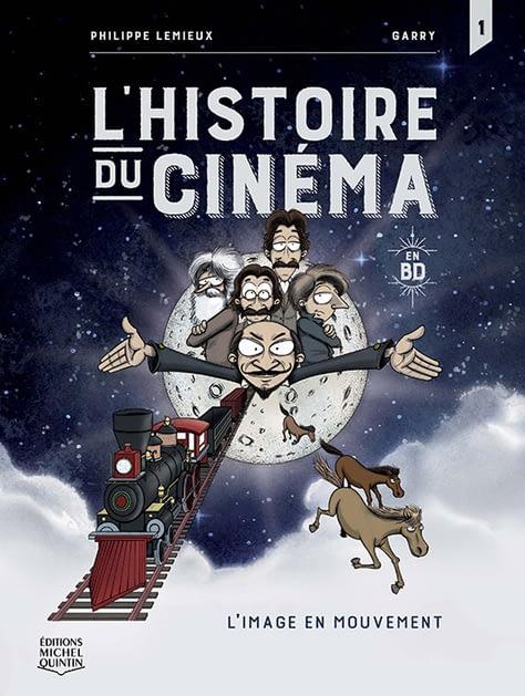 BD L'histoire du cinéma de Philippe Lemieux